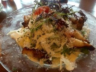 オーガスタ 自家製ベーコンと有機野菜のサラダ
