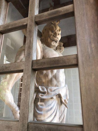 大山寺仁王像