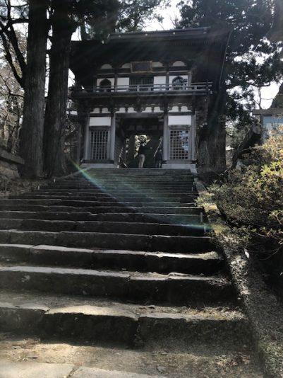 大山寺階段